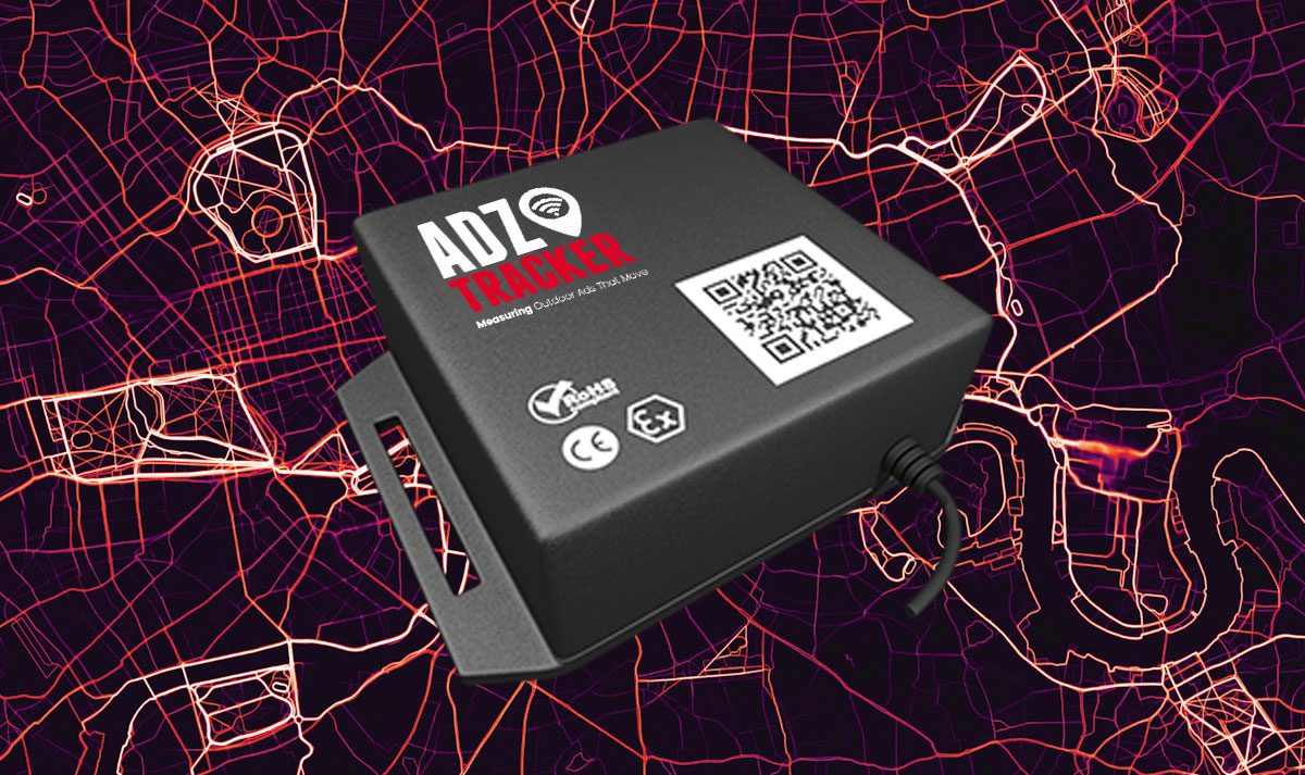 ADZ Tracker Device - A Truck Advertising Tracking Device